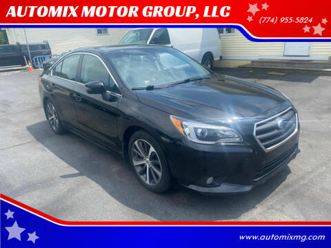 2015 Subaru Legacy for sale at AUTOMIX MOTOR GROUP, LLC in Swansea MA