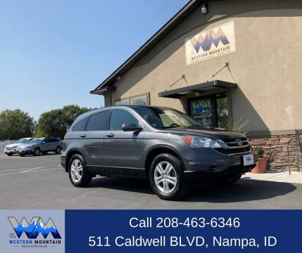 2010 Honda CR-V for sale at Western Mountain Bus & Auto Sales in Nampa ID