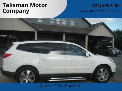 2012 Chevrolet Traverse for sale at Don Jacobson Automobiles in Houston TX
