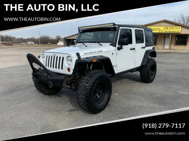 2012 Jeep Wrangler Unlimited for sale at THE AUTO BIN, LLC in Broken Arrow OK