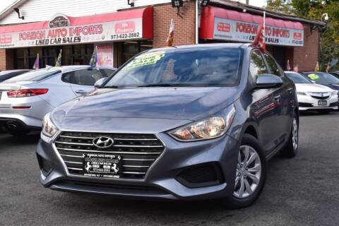 2019 Hyundai Accent for sale at Foreign Auto Imports in Irvington NJ