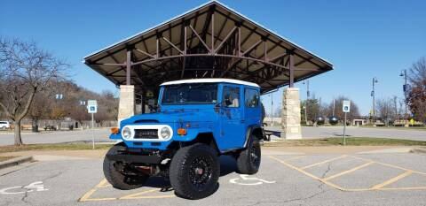 1973 Toyota FJ Cruiser for sale at D&C Motor Company LLC in Merriam KS