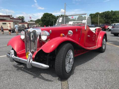1953 MG TD for sale at Waltz Sales LLC in Gap PA