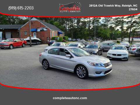 2014 Honda Accord for sale at Complete Auto Center , Inc in Raleigh NC
