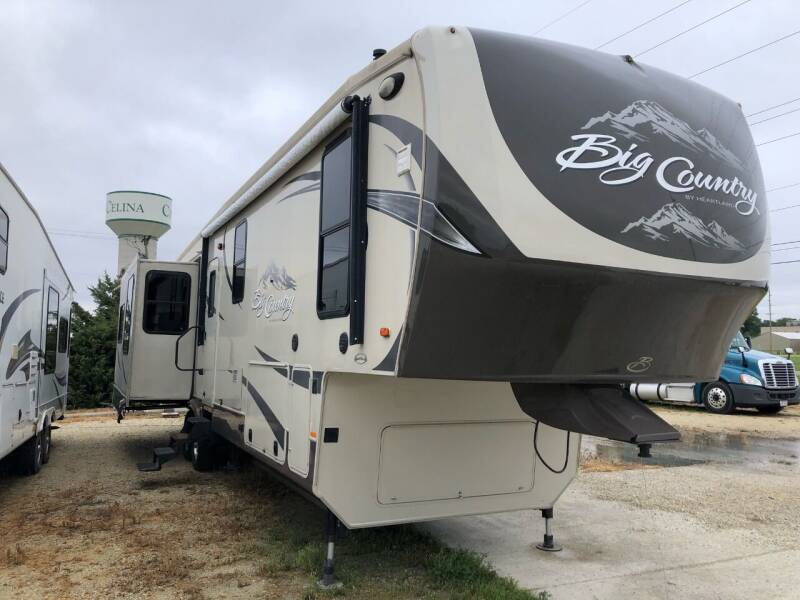 2013 Heartland Big Country for sale at Kill RV Service LLC in Celina OH