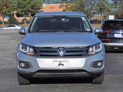 2016 Volkswagen Tiguan for sale at Auto Finance of Raleigh in Raleigh NC