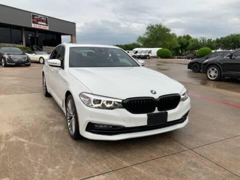 2018 BMW 5 Series for sale at KIAN MOTORS INC in Plano TX
