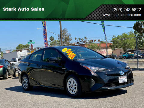 2016 Toyota Prius for sale at Stark Auto Sales in Modesto CA