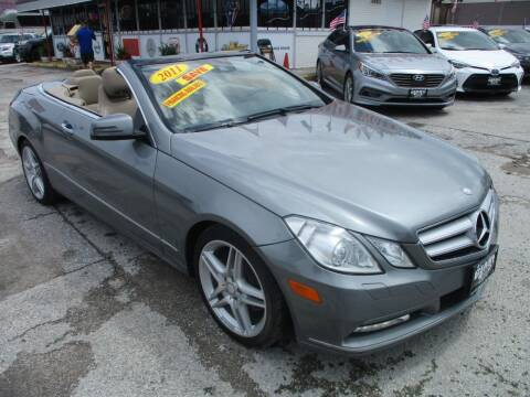 2011 Mercedes-Benz E-Class for sale at Giant Auto Mart 2 in Houston TX