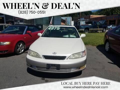 1998 Lexus ES 300 for sale at Wheel'n & Deal'n in Lenoir NC