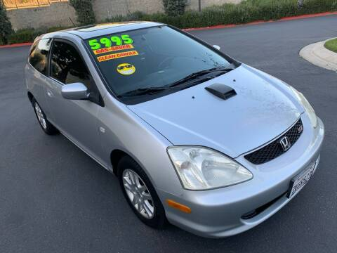 2003 Honda Civic for sale at Select Auto Wholesales in Glendora CA