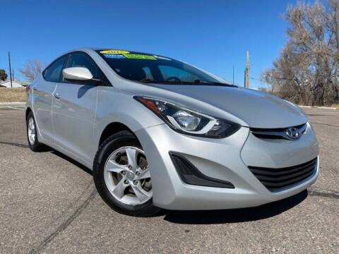 2015 Hyundai Elantra for sale at UNITED Automotive in Denver CO