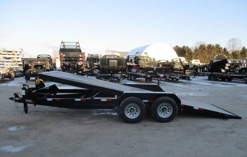 2018 Rice Trailers 82 IN X 20 FT for sale at G T AUTO PLAZA Inc in Pearl City IL