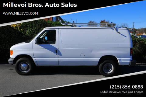 2006 Ford E-Series Cargo for sale at Millevoi Bros. Auto Sales in Philadelphia PA