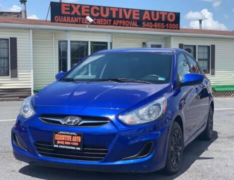 2014 Hyundai Accent for sale at Executive Auto in Winchester VA