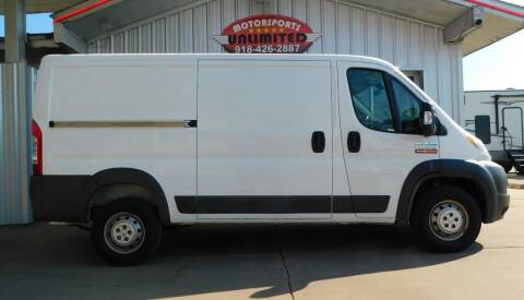2017 RAM ProMaster Cargo for sale at Motorsports Unlimited in McAlester OK