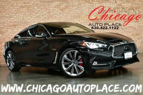 2018 Infiniti Q60 for sale at Chicago Auto Place in Bensenville IL