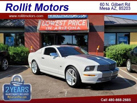 2007 Ford Mustang for sale at Rollit Motors in Mesa AZ