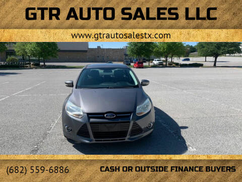 2012 Ford Focus for sale at GTR Auto Sales LLC in Haltom City TX