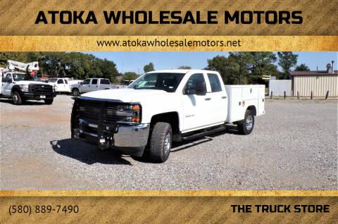 2018 Chevrolet Silverado 2500HD for sale at ATOKA WHOLESALE MOTORS in Atoka OK