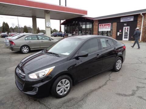2017 Hyundai Accent for sale at KARS R US of Spartanburg LLC in Spartanburg SC