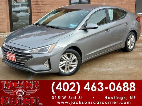 2019 Hyundai Elantra for sale at Jacksons Car Corner Inc in Hastings NE