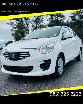 2017 Mitsubishi Mirage G4 for sale at MD AUTOMOTIVE LLC in Slidell LA