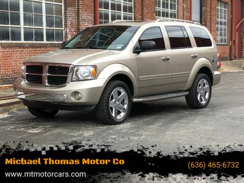 2008 Dodge Durango for sale at Michael Thomas Motor Co in Saint Charles MO