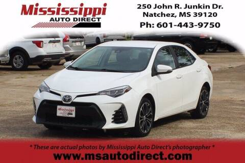 2017 Toyota Corolla for sale at Auto Group South - Mississippi Auto Direct in Natchez MS