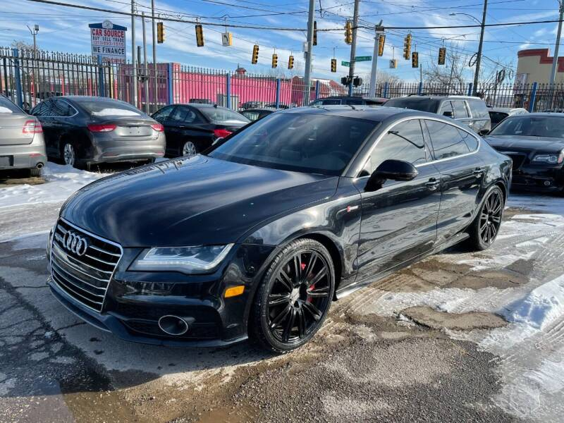 2013 Audi A7 for sale at SKYLINE AUTO in Detroit MI