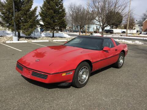 1984 Chevrolet Corvette for sale at Bromax Auto Sales in South River NJ