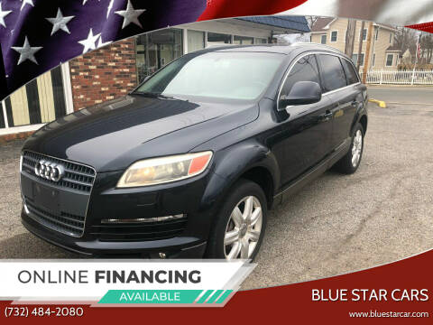 2007 Audi Q7 for sale at Blue Star Cars in Jamesburg NJ