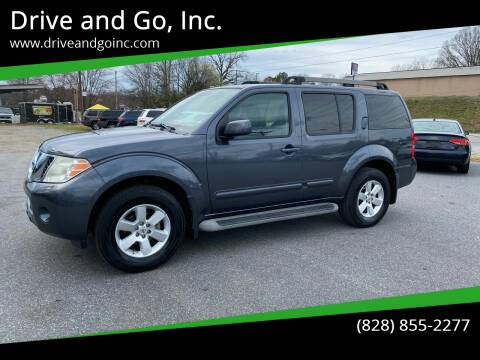 2010 Nissan Pathfinder for sale at Drive and Go, Inc. in Hickory NC