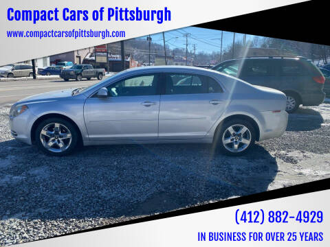 2010 Chevrolet Malibu for sale at Compact Cars of Pittsburgh in Pittsburgh PA