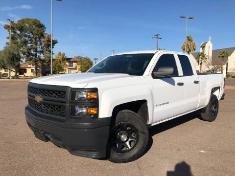 2014 Chevrolet Silverado 1500 for sale at DR Auto Sales in Glendale AZ