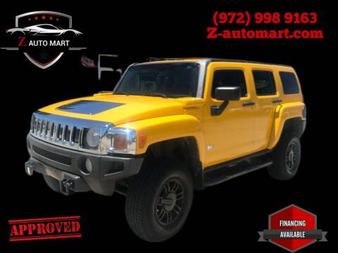 2006 HUMMER H3 for sale at Z AUTO MART in Lewisville TX