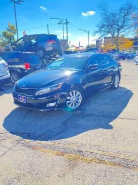 2015 Kia Optima for sale at AutoBank in Chicago IL
