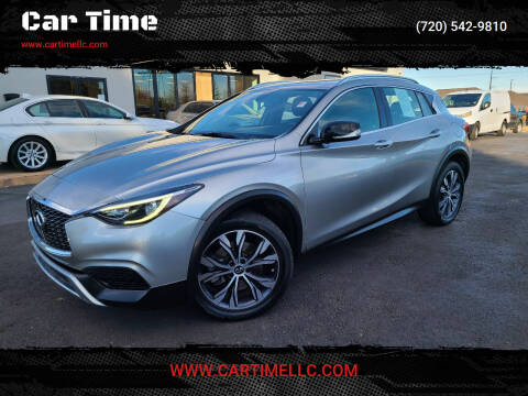 2017 Infiniti QX30 for sale at Car Time in Denver CO