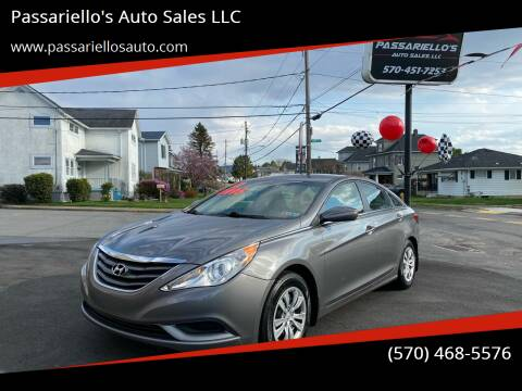 2012 Hyundai Sonata for sale at Passariello's Auto Sales LLC in Old Forge PA