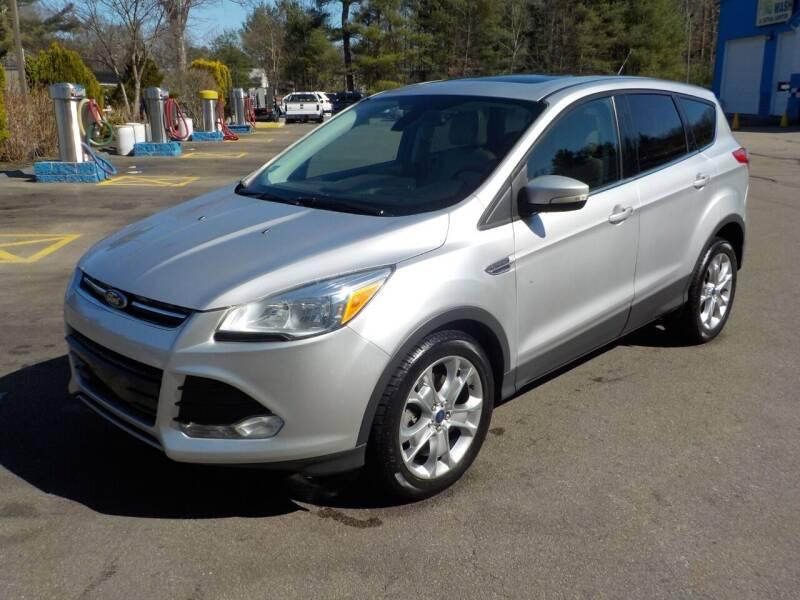 2013 Ford Escape for sale at RTE 123 Village Auto Sales Inc. in Attleboro MA