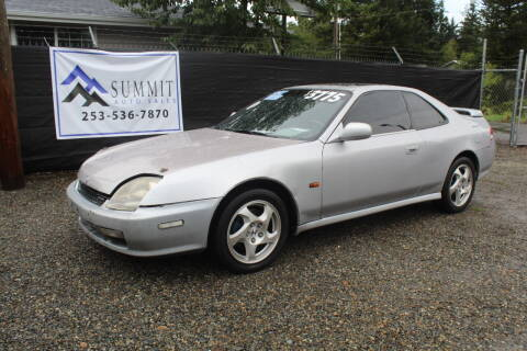 2001 Honda Prelude for sale at Summit Auto Sales in Puyallup WA