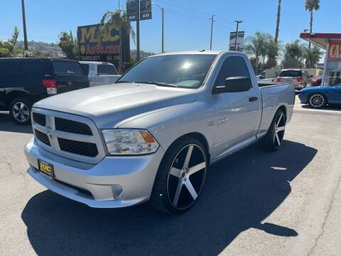 2015 RAM Ram Pickup 1500 for sale at Mac Auto Inc in La Habra CA
