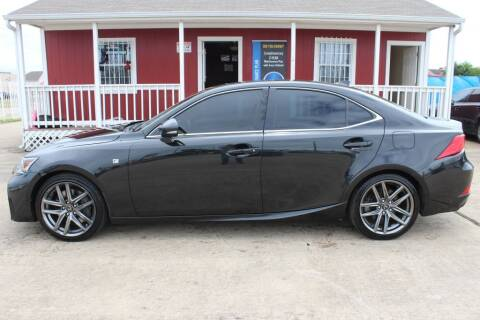 2017 Lexus IS 200t for sale at AMT AUTO SALES LLC in Houston TX