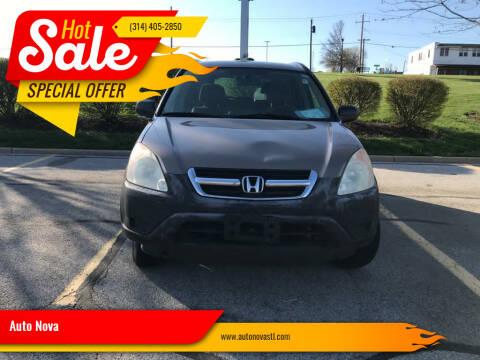 2004 Honda CR-V for sale at Auto Nova in St Louis MO