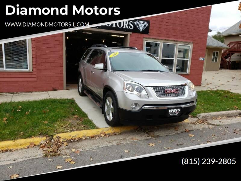 2007 GMC Acadia for sale at Diamond Motors in Pecatonica IL