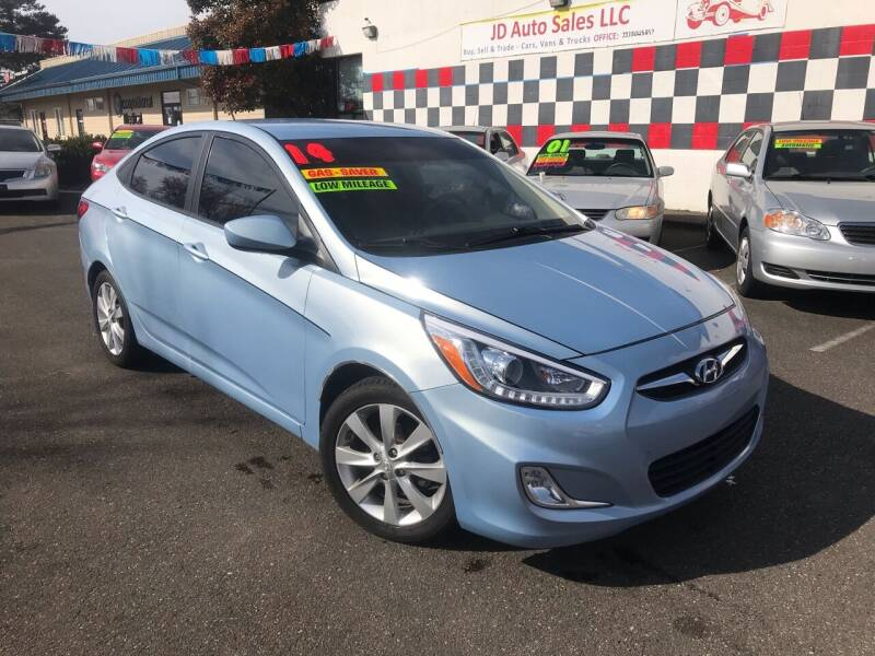 2014 Hyundai Accent for sale at JD Auto Sales LLC in Fife WA