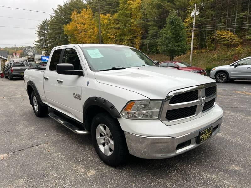 2013 RAM Ram Pickup 1500 for sale at Bladecki Auto LLC in Belmont NH
