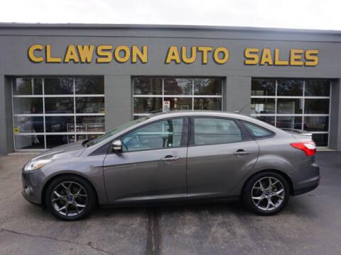 2014 Ford Focus for sale at Clawson Auto Sales in Clawson MI
