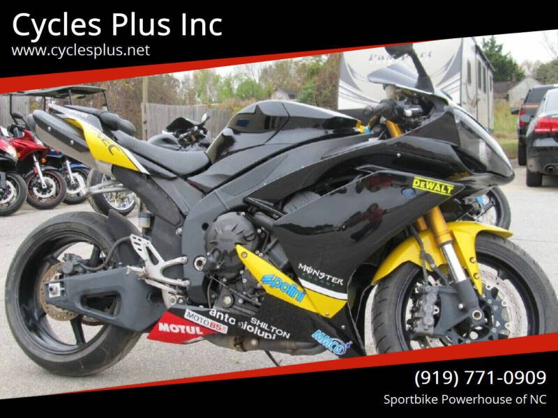 2008 Yamaha YZF R1 for sale at Cycles Plus Inc in Garner NC
