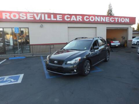 2014 Subaru Impreza for sale at ROSEVILLE CAR CONNECTION in Roseville CA